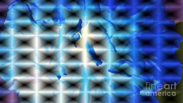 Subjective Digital Art - Framed Portholes by Kim Pate