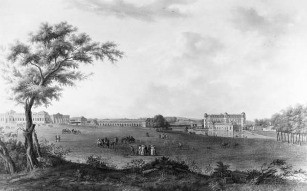1781 Painting - France Chantilly, 1781 by Granger