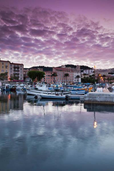 Walter Photograph - France, Corsica, Ajaccio, City View by Walter Bibikow