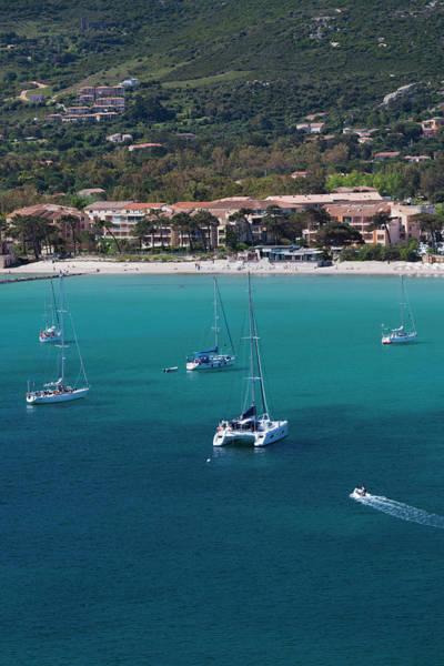 Calvi Photograph - France, Corsica, La Balagne, Calvi, Le by Walter Bibikow