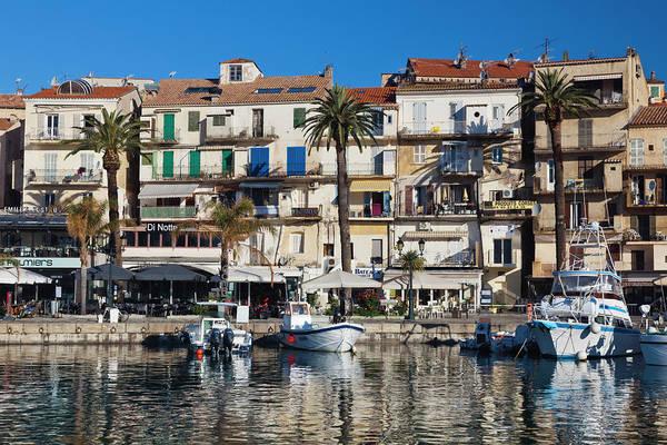 Port City Photograph - France, Corsica, La Balagne, Calvi by Walter Bibikow