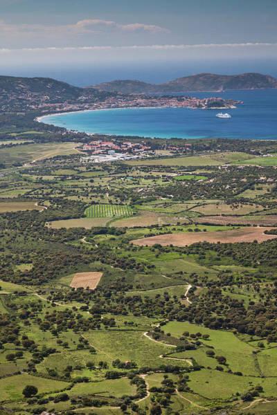 Calvi Photograph - France, Corsica, La Balagne, Col De by Walter Bibikow