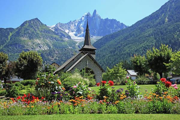 Chamonix Wall Art - Photograph - France, French Alps, Chamonix by Hiroshi Higuchi