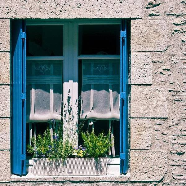 France Wall Art - Photograph - #france #french #window #shutters by Georgia Fowler