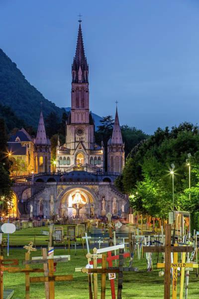 Pilgrimage Wall Art - Photograph - France, Hautes Pyrenees, Lourdes by Jacques Pierre / Hemis.fr