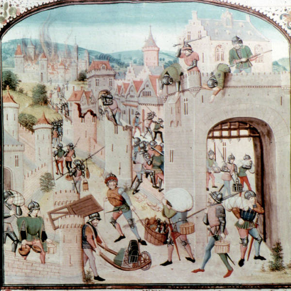 Wall Art - Painting - France Medieval Sacking by Granger