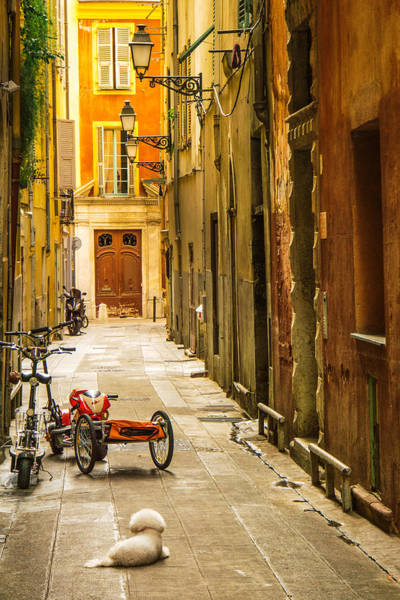South Of France Wall Art - Photograph - France - Nice - The Little Things by Vivienne Gucwa