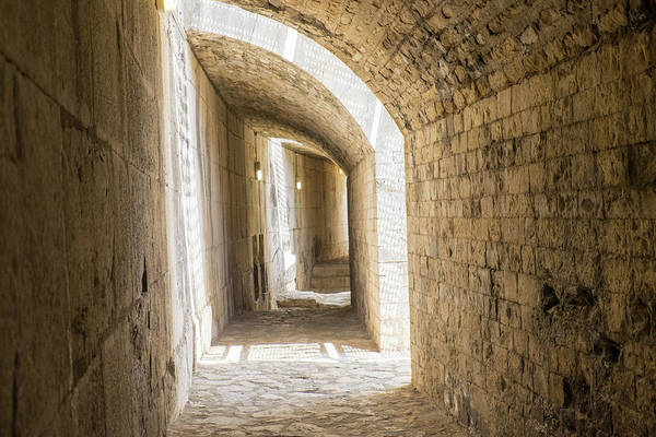 Amphitheater Wall Art - Photograph - France, Nimes, Roman Amphitheater Or by Emily Wilson