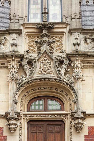 Alabaster Photograph - France, Normandy, Fecamp, Palais by Walter Bibikow