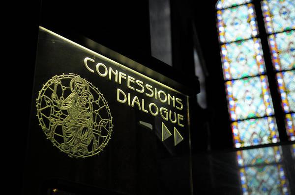 Dialogue Photograph - France, Paris Confessions Dialogue by Kevin Oke