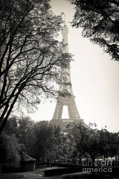 Photograph - The Eiffel Tower Paris France by Andy Myatt