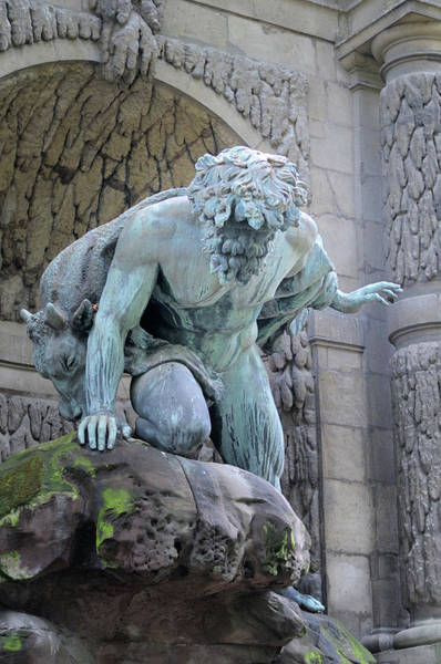 European Union Photograph - France, Paris Medici Fountain by Kevin Oke