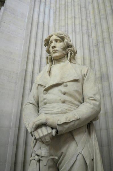 European Union Photograph - France, Paris Pantheon Sculpture by Kevin Oke