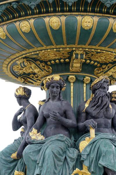 European Union Photograph - France, Paris Place De La Concorde by Kevin Oke