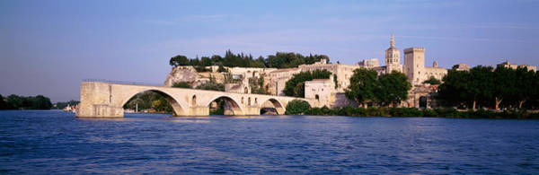 Rhone River Photograph - France, Vaucluse, Avignon, Palais Des by Panoramic Images