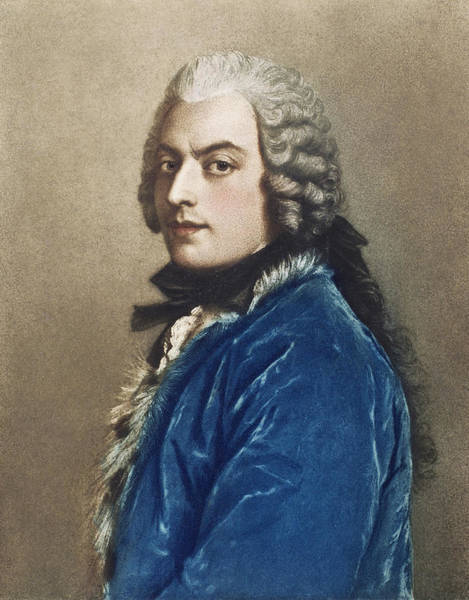 Jean Etienne Liotard Wall Art - Painting - Francesco Algarotti (1712-1764) by Granger