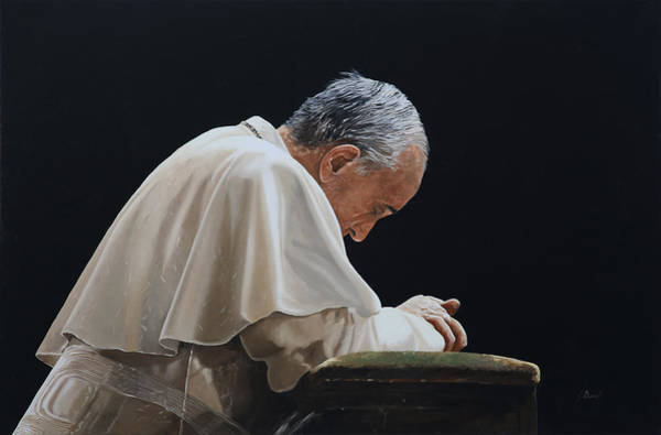 Francis Painting - Francesco by Guido Borelli