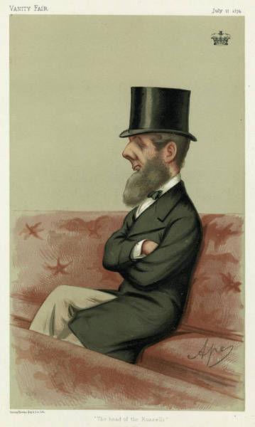 Wall Art - Drawing - Francis Russell Bedford  9th Duke by Mary Evans Picture Library