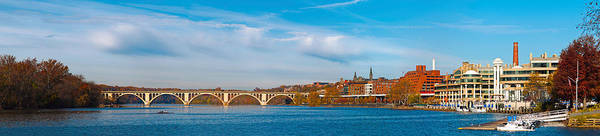 Roosevelt Island Wall Art - Photograph - Francis Scott Key Bridge by Panoramic Images