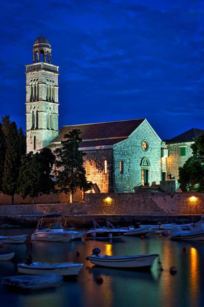 Hvar Wall Art - Photograph - Franciscan Monastery - Hvar Croatia by Stuart Litoff