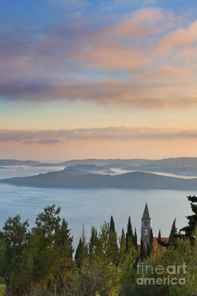 Balkan Peninsula Photograph - Orebic Monastery by Rod McLean
