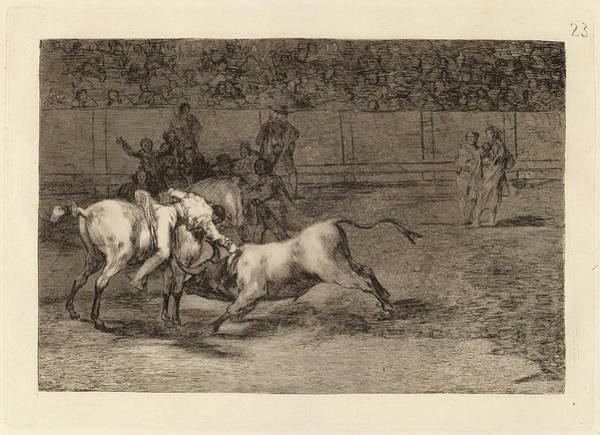 Wall Art - Drawing - Francisco De Goya, Mariano Ceballos, Alias El Indio, Mata by Quint Lox