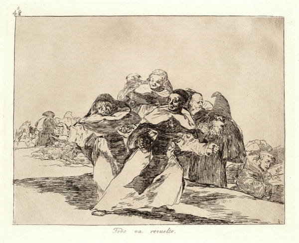 Wall Art - Drawing - Francisco De Goya Spanish, 1746-1828. Everything by Litz Collection