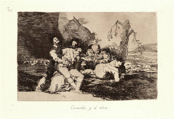 Wall Art - Drawing - Francisco De Goya Spanish, 1746-1828. Get Them Well by Litz Collection