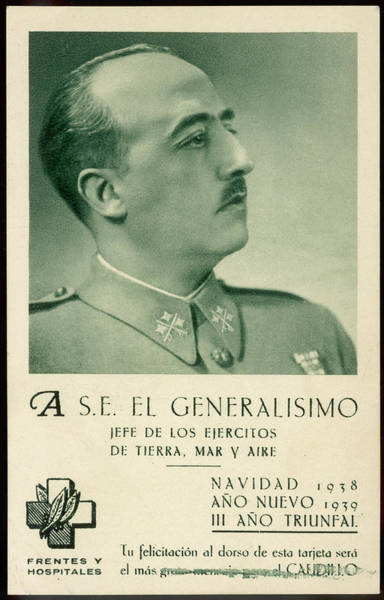 Wall Art - Photograph - Francisco Franco  Spanish Military by Mary Evans Picture Library