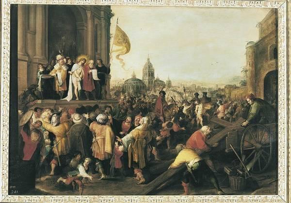 Pontius Pilate Wall Art - Photograph - Francken II, Frans 1581 - 1642. The by Everett