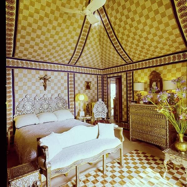 Wall Art - Photograph - Franco Zeffirelli's Bedroom by Horst P. Horst