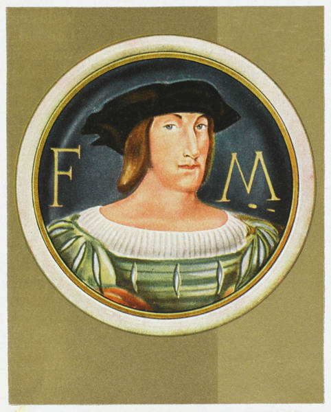 Wall Art - Drawing - Francois I Of France King From 1515 - by Mary Evans Picture Library