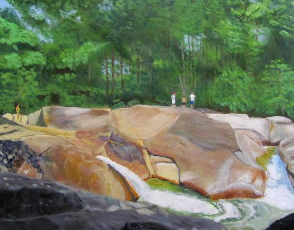 Painting - Franconia Falls by Linda Feinberg