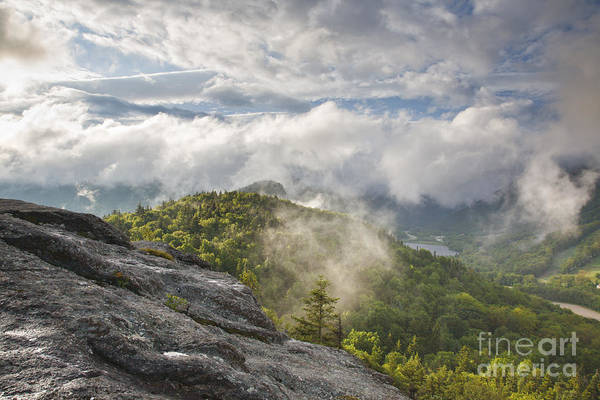 Photograph - Franconia Notch State Park - New Hampshire White Mountains  by Erin Paul Donovan