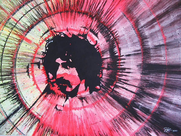 Frank Zappa Painting - Frank by Lance Bifoss