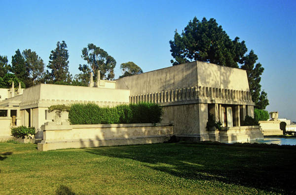 Wall Art - Photograph - Frank Lloyd Wrights Hollyhock House by Panoramic Images