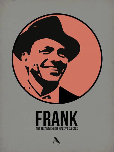 Jazz Digital Art - Frank Poster 1 by Naxart Studio