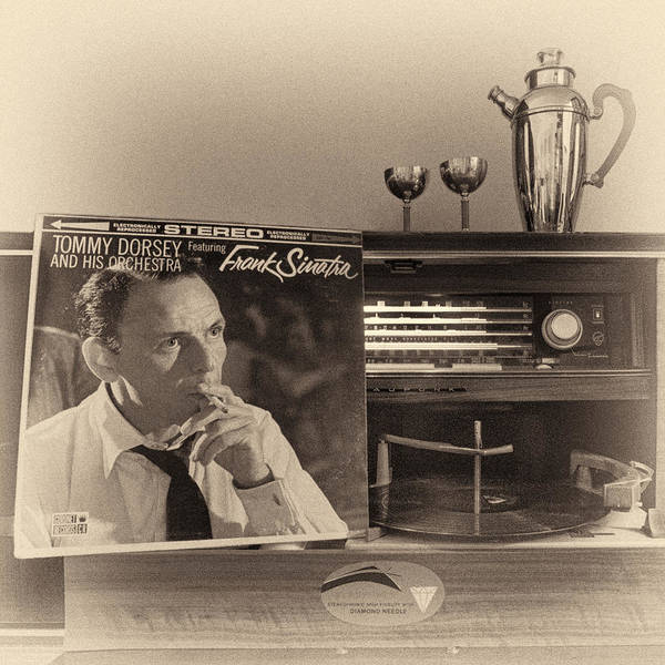 Frank Sinatra Croons To You Art Print
