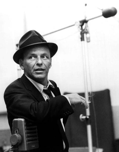 Image Wall Art - Photograph - Frank Sinatra by Retro Images Archive