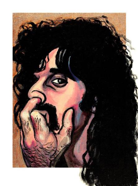 Frank Zappa Painting - Frank Zappa by Adam B Cook