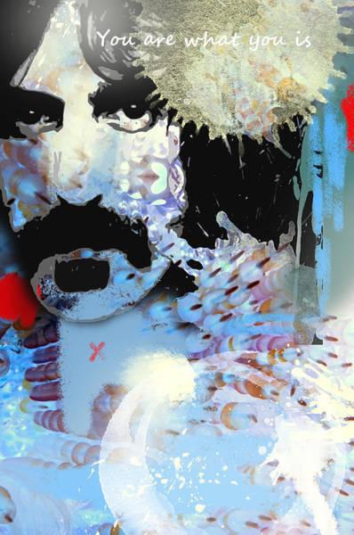 Frank Zappa Wall Art - Digital Art - Frank Zappa by Dray Van Beeck