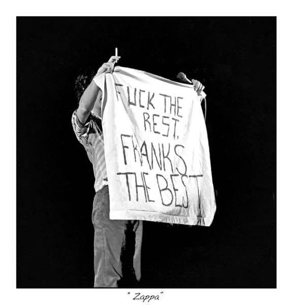 Frank Zappa Wall Art - Photograph - Frank Zappa by James Neiss