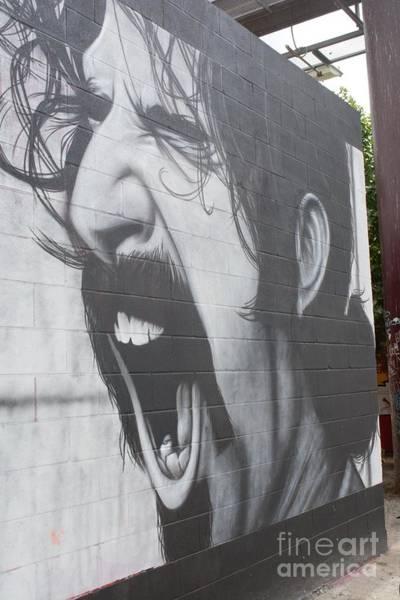 Frank Zappa Wall Art - Photograph - Frank Zappa Mural by Lne Kirkes