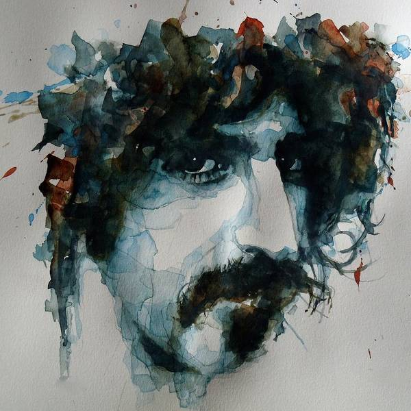 Wall Art - Painting - Frank Zappa by Paul Lovering