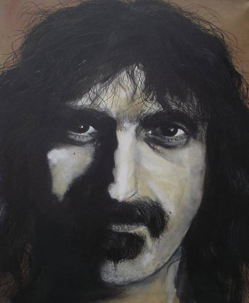 Frank Zappa Painting - Frank Zappa by Sigi Schlosser