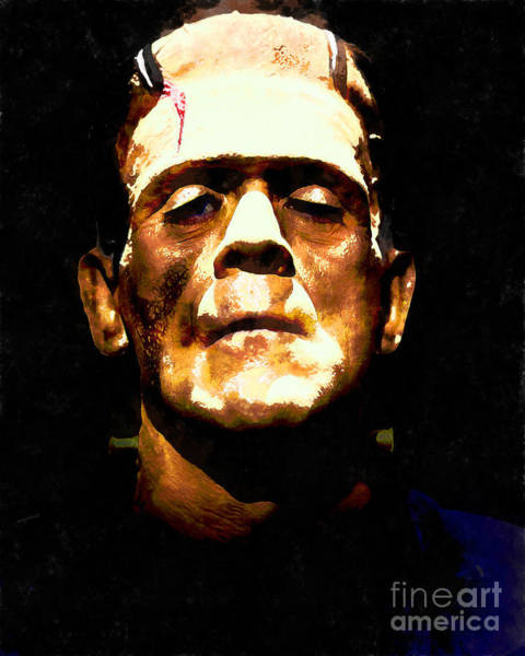 Photograph - Frankenstein 20140921wc V1 by Wingsdomain Art and Photography