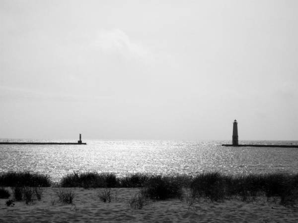 Photograph - Frankfort Michigan Harbor by Michelle Calkins