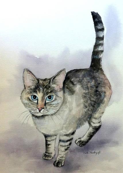 Painting - Frankie by Hilda Vandergriff
