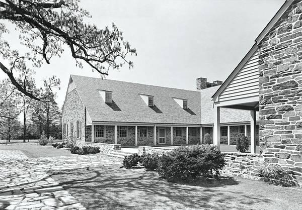 New York Landscape Photograph - Franklin D Roosevelt Library by Samuel H. Gottscho
