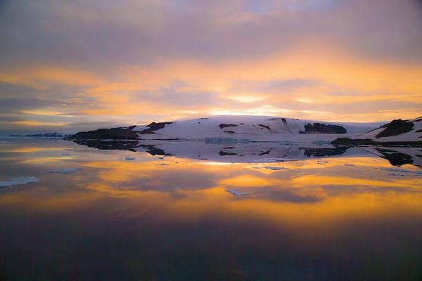 Grey Cloud Photograph - Franz Josef Land, Russia by Janet Muir